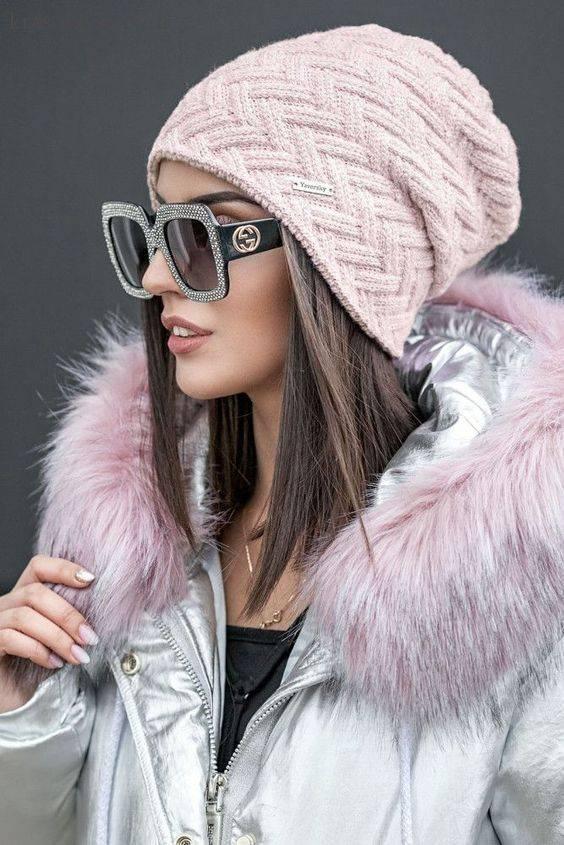 کلاه خانم ها در زمستان