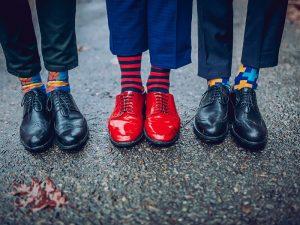 استایل جذاب مردانه با جوراب طرحدار