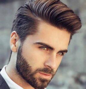 استایل جذاب مردانه با توجه با موهای خود