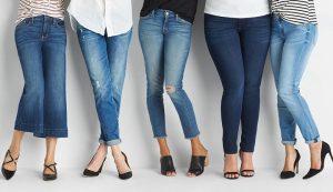 مدل های مختلف شلوار جین خانم ها