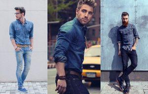 آستین پیراهن مردانه