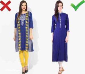 اشتباهات رایج خانم ها در لباس پوشیدن